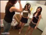 Pinky - 温泉で女の子3人組を確保したお話